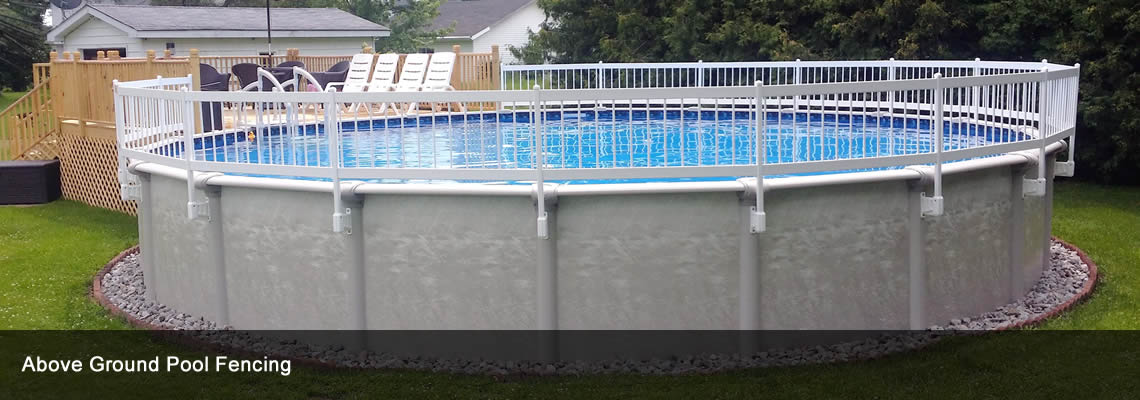 Above ground pool fence gate round designs for Above ground pool gate ideas