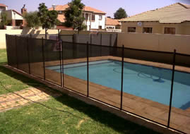 Removable Pool Fence 4 Foot And 5 Foot Black Brown