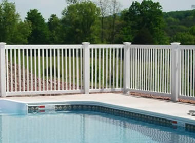 Vinyl Pool Fencing Is Available In 48 Quot 54 Quot And 60